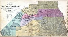 Tulare County, Tulare County 1892